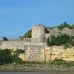Citadelle Blaye depuis estuaire